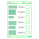 Multiplication Times Tables Math Worksheets