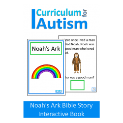 Noah's Ark Bible Story Interactive Adapted Book