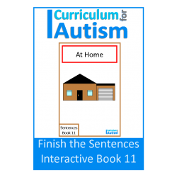 Finish The Sentences Interactive Book- At Home