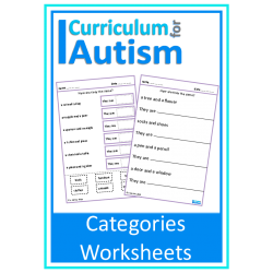 Categories Similarities Worksheets
