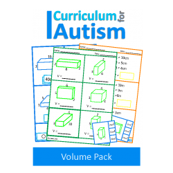 Volume Task Cards and Worksheets