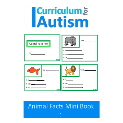 Animal Fact File Mini Book Set 1,