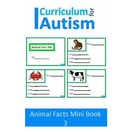 Animal Fact File Mini Book Set 3