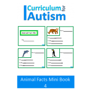 Animal Fact File Mini Book Set 4