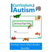 Animal Fact File Mini Books Bundle