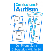 Subtraction 1 - 10 Task Cards