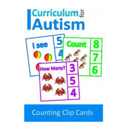 Count 1-10 Clip Cards