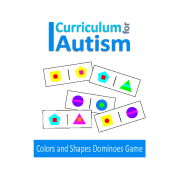 Colors & Shapes Dominoes Game for Visual Perception