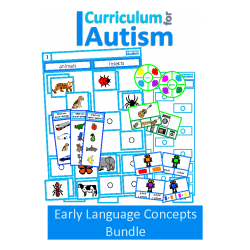 Autism Early Language Concepts BUNDLE
