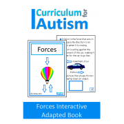 Forces Interactive Adapted Science Book, Special Education