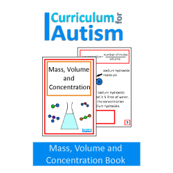 Mass, Volume and Concentration Interactive Adapted CHemistry Book