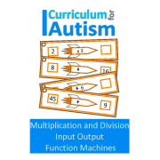 Multiplication & Division Input Output Function Machines, Algebra