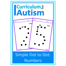 Simple Dot to Dot Numbers