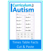Times Tables Facts Cut & Paste