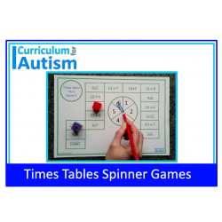 Times Tables Facts Multiply Divide Spinner Games