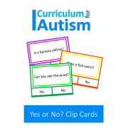 Reading Skills Yes or No Clip Cards