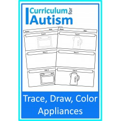 Trace, Draw, Color Appliances