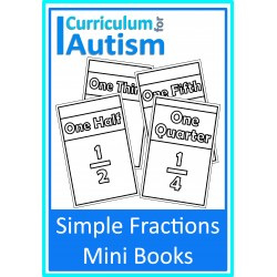 Simple Fractions Mini Books