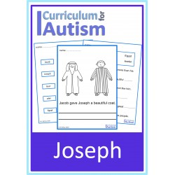 Joseph Worksheets Pack Autism Sunday School