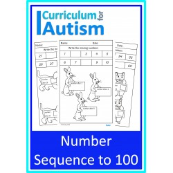 Sequencing Numbers to 100 Worksheets