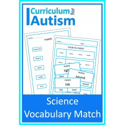 Science Vocabulary Match
