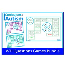 WH Questions Games BUNDLE