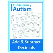 Addition & Subtraction of Decimals Worksheets