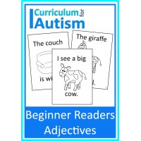 Adjectives Beginner Reader Books