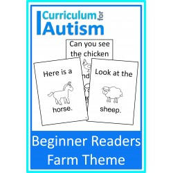 Beginner Reader Books Farm Theme