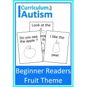 Beginner Reader Books Fruit Theme
