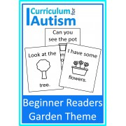 Beginner Reader Books Garden Theme