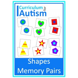 Shapes Memory Pairs Game for Turn Taking Skills