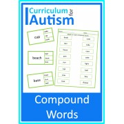 Compound Words Clip Cards & Matching Worksheets