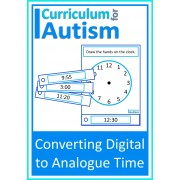 Telling the Time Digital to Analogue Clock Task Cards