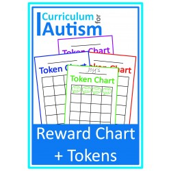 Distance Learning Reward Chart & Tokens