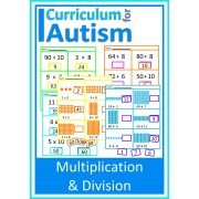 Multiplication and Division Cut & Paste Math Worksheets