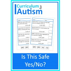 Is This Safe? Yes No Safety Cut & Paste Worksheets