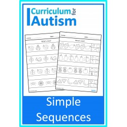 Simple Sequences Worksheets