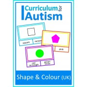 Shapes and Colours Clip Cards- UK Version