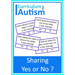 Sharing Yes or No? Cards
