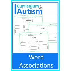 Word Association Vocabulary Worksheets