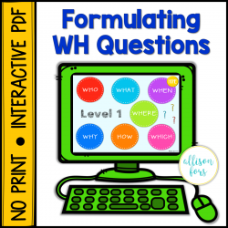 [NO PRINT] Learning to Ask WH Questions
