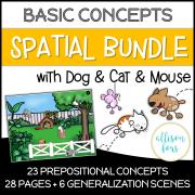 Prepositions Bundle NO PREP Worksheets