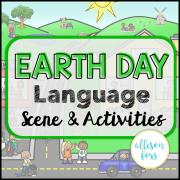 Earth Day Scene: Expressive & Receptive Language