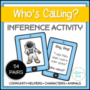 Who's Calling? Inference Activity