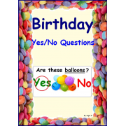 FREE Birthday Yes/No Questions