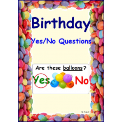 FREE Birthday Yes/No Questions Print and Go