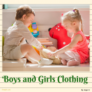 Clothing Unit, Boys and Girls Clothes Flashcards, Pecs