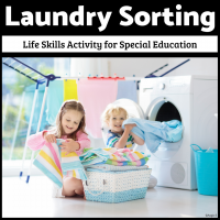 Laundry Sorting Life Skills for Autism