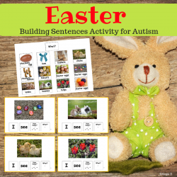 Easter Building Sentences